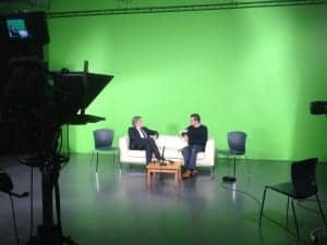 Interview in DkIT state of the art TV studio