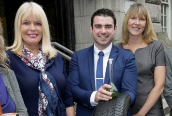 "Ireland's Best Young Entrepreneur Competition 2016 ""A Record Breaker"""