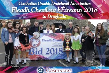 Supporting Drogheda's Bid for Fleadh Cheoil