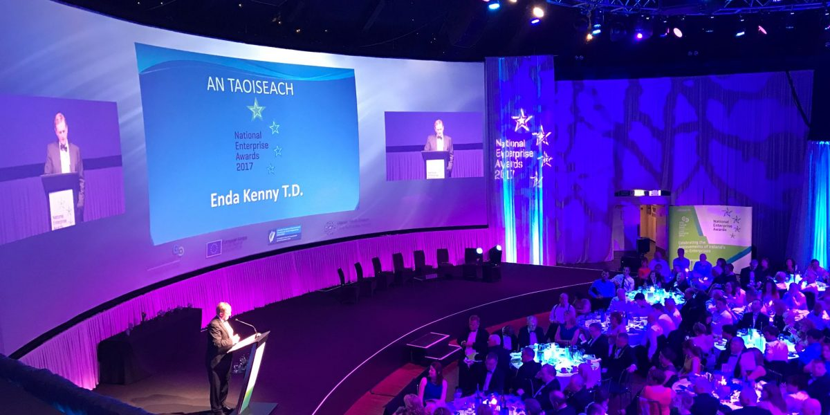 An Intern's Eye View: National Enterprise Awards 2017